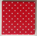 Ceramic Wall Tiles Made With Cath Kidston Mini Spot Red